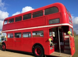 London Bus for weddings in Great Yarmouth
